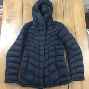 Patagonia black puffer jacket coat small